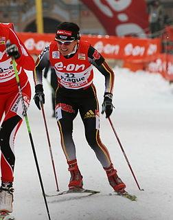Manuela Henkel German cross-country skier