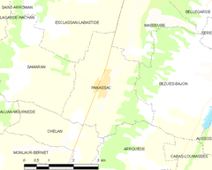 Map commune FR insee code 32304.png