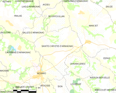 Map commune FR insee code 32369.png