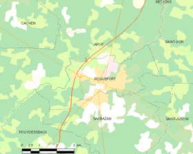 Map commune FR insee code 40245.png