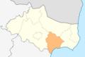 Map of Balchik municipality (Dobrich Province).png