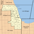 Map of Cook County Illinois showing townships.png