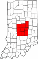 Map of Indiana highlighting Nine-County Region.PNG