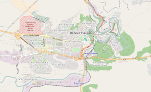 Map of Veliko Tarnovo