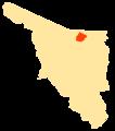 Mapa Municipios Sonora Cananea.png