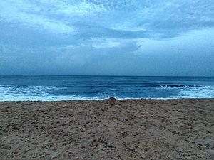 Maravanthe - Maravanathe Beach at dawn