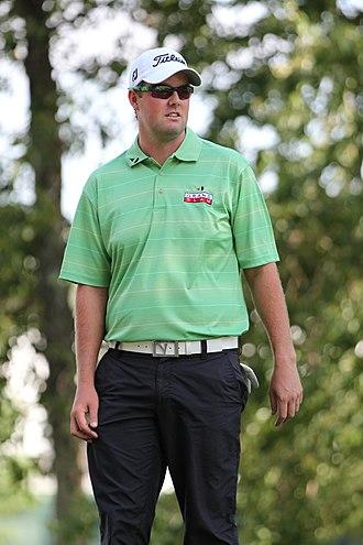 Marc Leishman - Leishman practising for the U.S. Open, June 2011