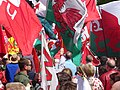 March for Welsh Independence arranged by AUOB Cymru First national march; Wales, Europe 19.jpg