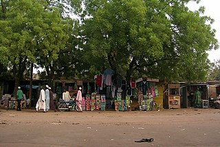 Garoua City in North, Cameroon