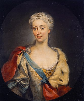 Maria Clementina Sobieska - Martin van Meytens (after), Maria Clementina Sobieska, 1727/28, Scottish National Gallery