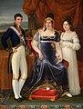 Maria Luisa di Spagna, duchessa di Lucca con i figli.jpg