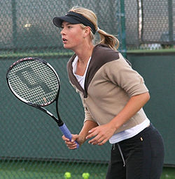 Maria Sharapova i Indian Wells 2006.