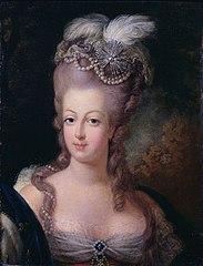 Marie-Antoinette portréja(Jean-Baptiste Gautier Dagoty festménye)