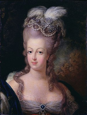 Queen Marie Antoinette of France, 1775, unknown painter, Musée Antoine Lécuyer, Saint-Quentin