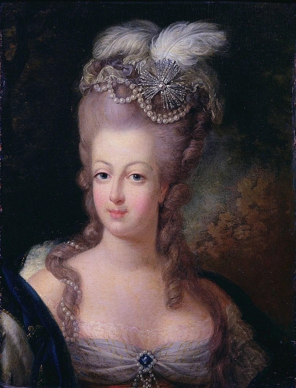 Marie-Antoinette, 1775 - Musée Antoine Lécuyer