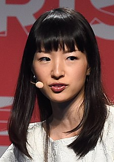 Marie Kondo Japanese author and consultant