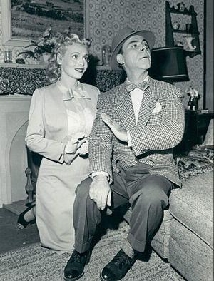 My Friend Irma (entertainment property) - Image: Marie Wilson Sid Tomack My Friend Irma 1953