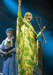 Mariem Hassan Sahrawi singer