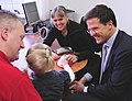 Mark Rutte bezoekt huisartsengezondheidscentrum in Groningen.jpg