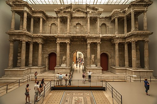 Market Gate of Miletus in the Pergamon Museum
