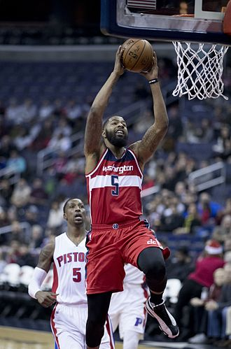 Markieff Morris - Morris with the Wizards in 2016