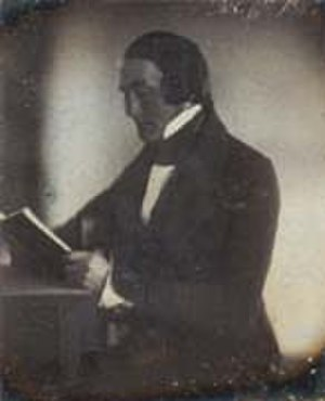 Martin Hans Boyè - 1841 daguerreotype of Martin Hans Boyè by Robert Cornelius