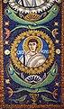 Martyr Gervasius. Detail of the mosaic in the Basilica of San Vitale. Ravena, Italy.jpg