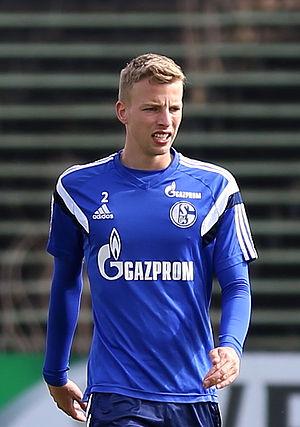Marvin Friedrich - Friedrich in training for Schalke 04