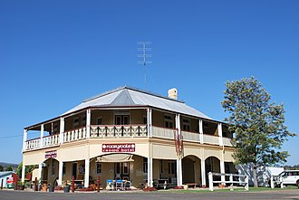 Maryvale, Queensland (Southern Downs Region) - The historic Crown Hotel at Maryvale