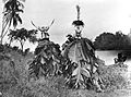Masked figure of the Kawmot, South Coast of New Britain Wellcome M0005341.jpg