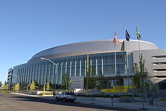 Hoffman Construction Company - Matthew Knight Arena built by Hoffman Construction
