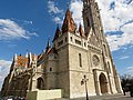Matthias Church NW detail, 2013 Budapest (295) (13228388154).jpg