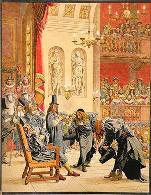 Maurice Leloir - Image: Maurice Leloir Le Roy Soleil La dernière représentation de Molière