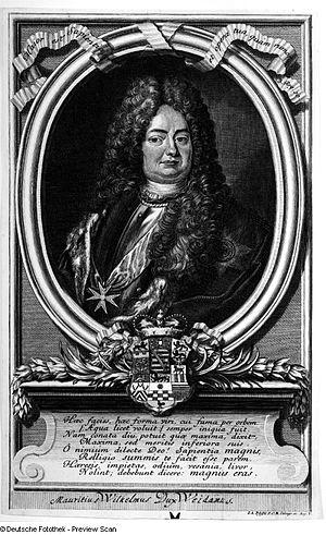 Moritz Wilhelm, Duke of Saxe-Zeitz - Image: Maurice Wilhelm Saxe Zeitz