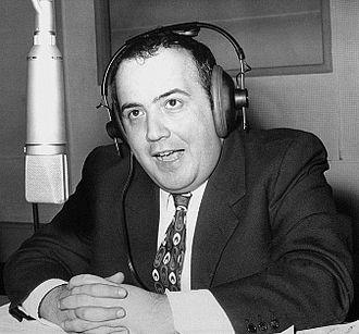 Maurizio Costanzo - Maurizio Costanzo presenting the radio show Buon Pomeriggio in 1972