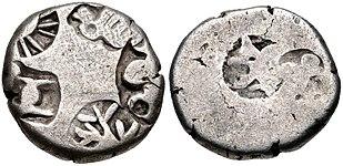 Mauryan Empire. temp. Salisuka or later. Circa 207-194 BC