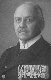 German naval commander and military writer
