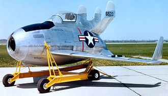 McDonnell XF-85 Goblin - XF-85 serial number 46-523 in the National Museum of the United States Air Force