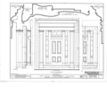 McKendree College, Old Main Building, College Square, Lebanon, St. Clair County, IL HABS ILL,82-LEBA,1A- (sheet 3 of 3).png