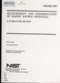 Measurement and determination of radon source potential- a literature review (IA measurementdeter5399tann).pdf