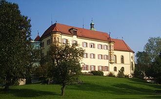 Meckenbeuren - Image: Meckenbeuren Stiftung Liebenau Schloss