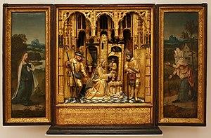 Bonnefantenmuseum - Image: Meester van 1518 Huisaltaar