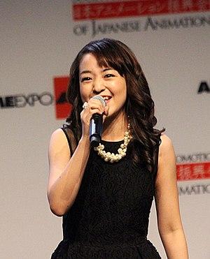 Megumi Han - Megumi Han at Anime Expo 2013