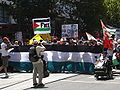 Melb- Rally against the 2008-2009 Israeli strike on Gaza, Jan 2009.JPG