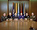 Melvin R. Laird meets with the Joint Chiefs of Staff in his Pentagon office.jpg
