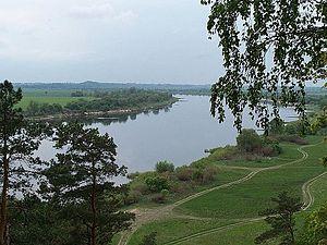 Neman - Neman opposite Kaliningrad Oblast (Russian exclave)
