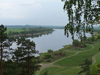 Река Нямунас у г. Неман. Foto:Sca
