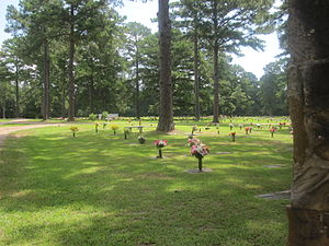 Natchitoches, Louisiana - Memory Lawn Cemetery in Natchitoches