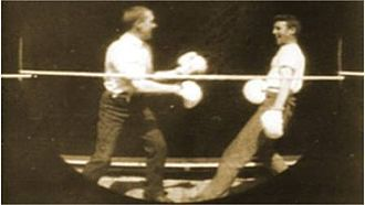 Men Boxing - Screenshot from the film