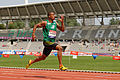 Men 100 m French Athletics Championships 2013 t154126.jpg
